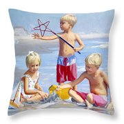Four Five And Six Throw Pillow
