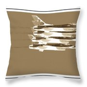 Four In A Row Throw Pillow