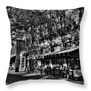 Four Market Square In Knoxville Throw Pillow