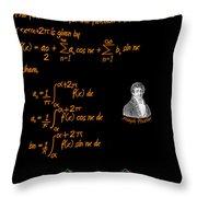 Fourier Series Throw Pillow