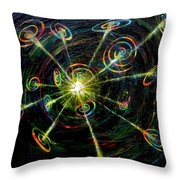 Fourth Day Of Creation Throw Pillow