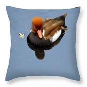 Fowl Ginger Throw Pillow