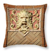 Fox Gargoyle 01 Throw Pillow