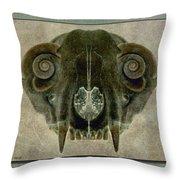Foxbone Vi Throw Pillow
