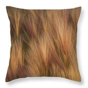 Foxtail Throw Pillow
