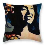Foxy Lady 002 Throw Pillow
