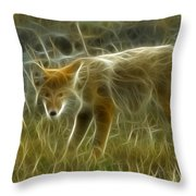 Foxy Loxy Throw Pillow