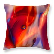 Foxylady Throw Pillow