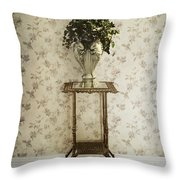 Foyer Living Throw Pillow by Margie Hurwich