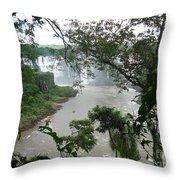 Foz Do Iguacu Throw Pillow