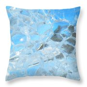 Fracked  Throw Pillow