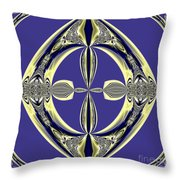 Fractal 008 Throw Pillow