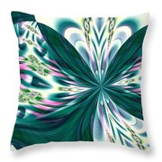 Fractal 011 Throw Pillow