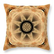 Fractal 013-2 Throw Pillow