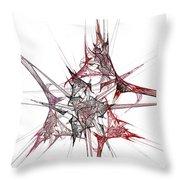 Fractal 057 Throw Pillow