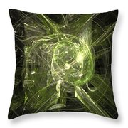 Fractal 068 Throw Pillow