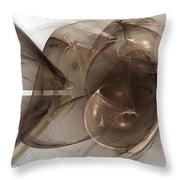 Fractal 070 Throw Pillow