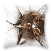 Fractal 071 Throw Pillow