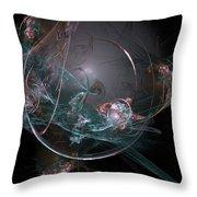 Fractal 073 Throw Pillow