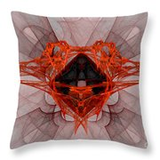 Fractal 080 Throw Pillow