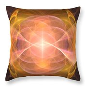 Fractal 094 Throw Pillow