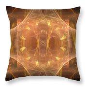 Fractal 096 Throw Pillow