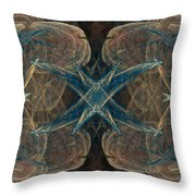 Fractal 097 Throw Pillow