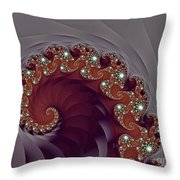 Bejeweled Tentacle Throw Pillow
