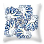 Fractal 1 Throw Pillow