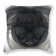 Fractal 103 Throw Pillow