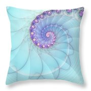Fractal 17 Throw Pillow