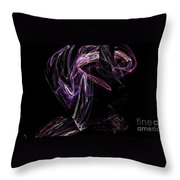 Fractal 32 For Mom Throw Pillow