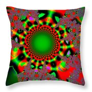 Fractal #6b Throw Pillow