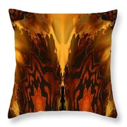 Fractal Abstract 15-01 Throw Pillow