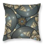 Fractal Art Deco  Throw Pillow