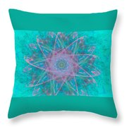 Fractal Magic Throw Pillow