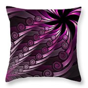 Fractal On The Way 2 Throw Pillow