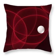 Fractal The Lonesome Pearl 2 Throw Pillow