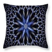 Fractal Weave Throw Pillow