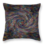 Fractalia For New York H A Throw Pillow