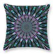 Fractalscope 23 Throw Pillow