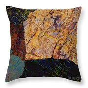 Fracture Section Ix Throw Pillow