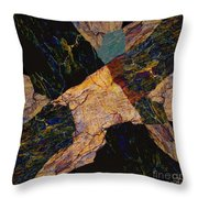 Fracture Section Viii Throw Pillow