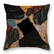 Fracture Section Vll Throw Pillow