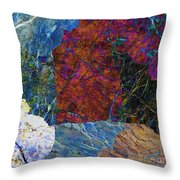 Fracture Section Xi Throw Pillow