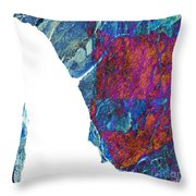 Fracture Section Xiii Throw Pillow
