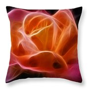 Fractured Love Throw Pillow