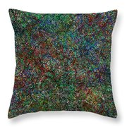 Fragments Of My Imagination Throw Pillow