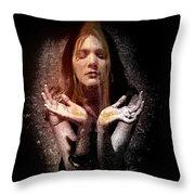 Fragrance Of Worship Throw Pillow