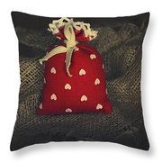Fragrance Pouch Throw Pillow